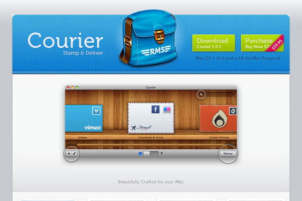 Courier for Mac