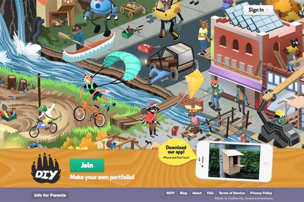 Online Community for Kids