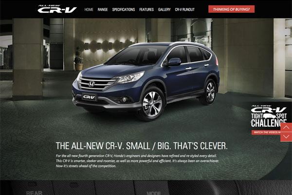 official honda cr  site reeoocom